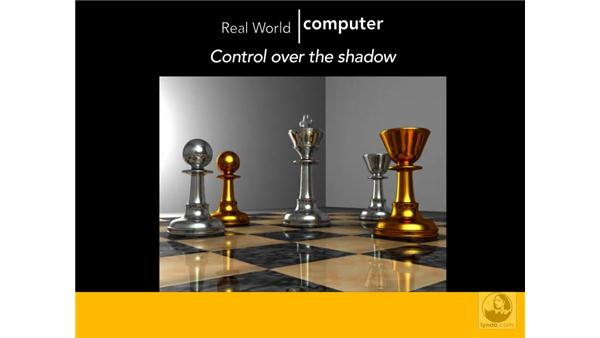 Comparing real-world and computer lights: 3ds Max 2009 Beyond the Basics
