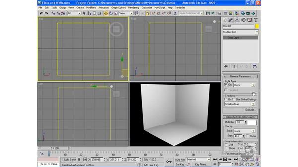 Omni lights: 3ds Max 2009 Beyond the Basics