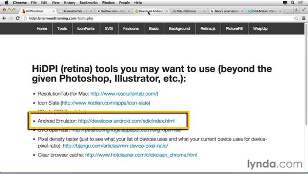 Tools you may use along the way: Making Your Site Retina-Ready