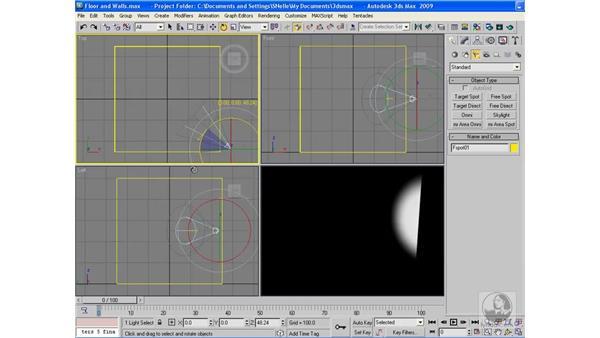 Spot lights: 3ds Max 2009 Beyond the Basics