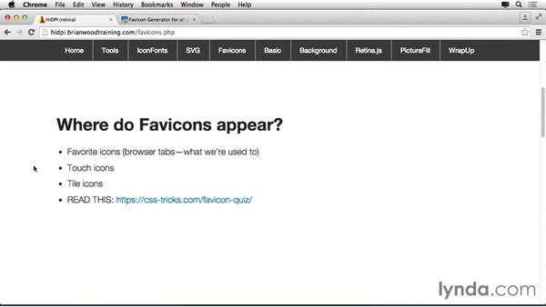 Understanding favicons today: Making Your Site Retina-Ready