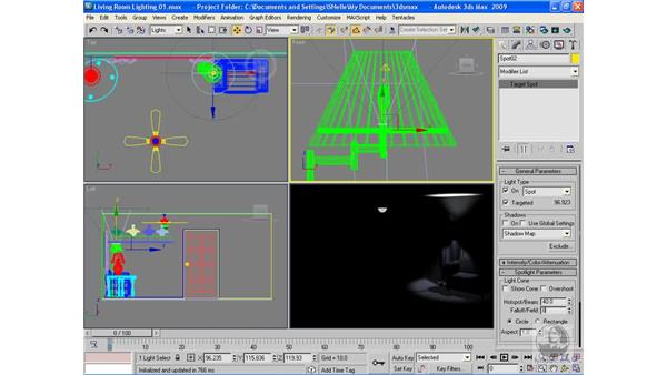 Project: Lighting a scene pt. 2: 3ds Max 2009 Beyond the Basics