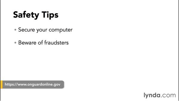 Identifying spoofs and scams: PayPal Essential Training