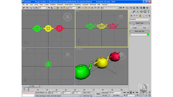 Identifying the types of cameras in 3ds Max: 3ds Max 2009 Beyond the Basics