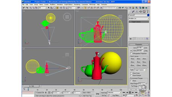 Camera viewport navigation commands: 3ds Max 2009 Beyond the Basics
