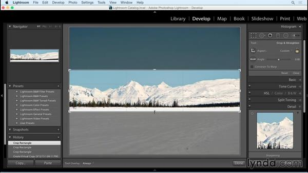 Cropping to enhance asymmetry: Exploring Composition in Photography