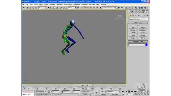 The principles of animation: 3ds Max 2009 Beyond the Basics