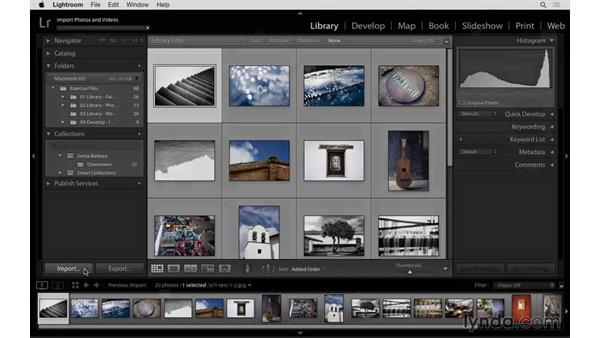 Importing to a collection and collection filtering: Lightroom: 2015 Creative Cloud Updates