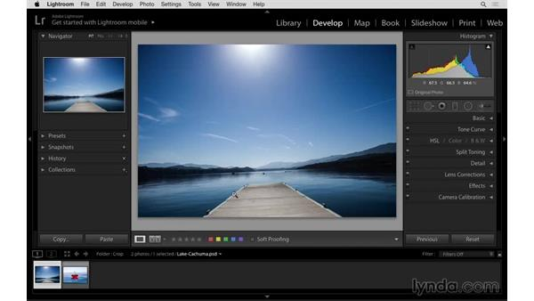 Auto leveling in Crop dialog: Lightroom: 2015 Creative Cloud Updates