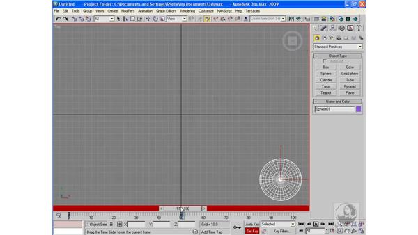 Using the Set Key mode: 3ds Max 2009 Beyond the Basics