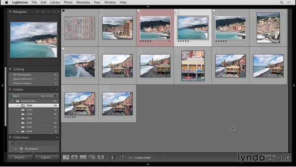 Using Smart Collections: Up and Running with Lightroom 6 and Lightroom CC