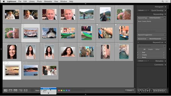 Keywording: Up and Running with Lightroom 6 and Lightroom CC