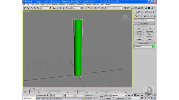 Deleting keyframes: 3ds Max 2009 Beyond the Basics