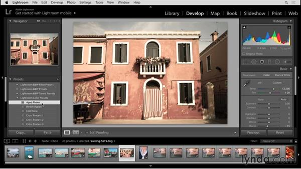 Develop module overview: Up and Running with Lightroom 6 and Lightroom CC