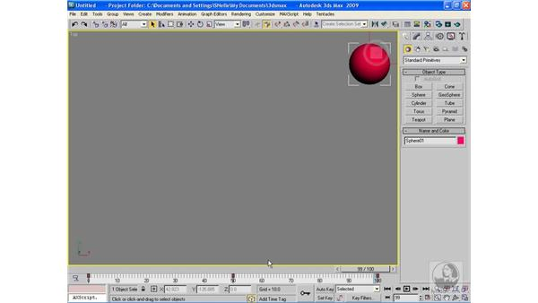 Copying keyframes: 3ds Max 2009 Beyond the Basics