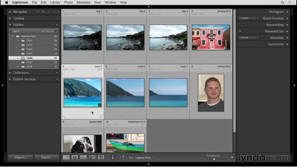 Stitching a panorama: Up and Running with Lightroom 6 and Lightroom CC