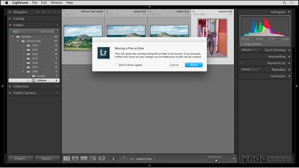 Fixing missing photos: Up and Running with Lightroom 6 and Lightroom CC