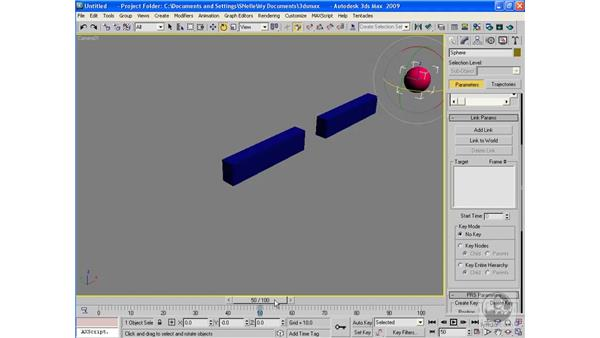 Animating a link: 3ds Max 2009 Beyond the Basics