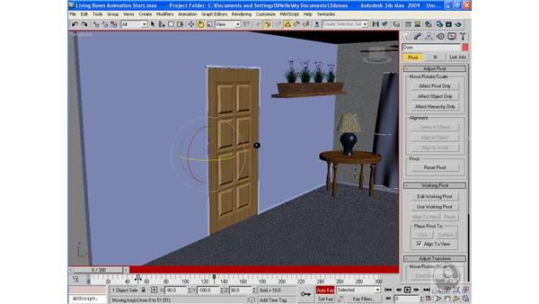Project: Animating a scene: 3ds Max 2009 Beyond the Basics