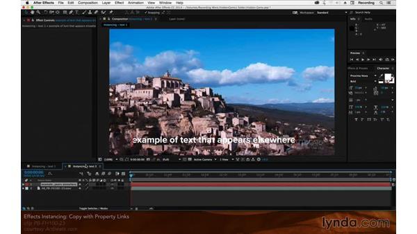 Effects instancing: After Effects Hidden Gems
