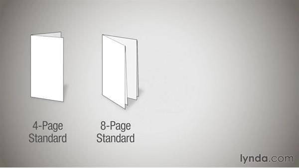 Basic folds: Print Production Essentials: Folding