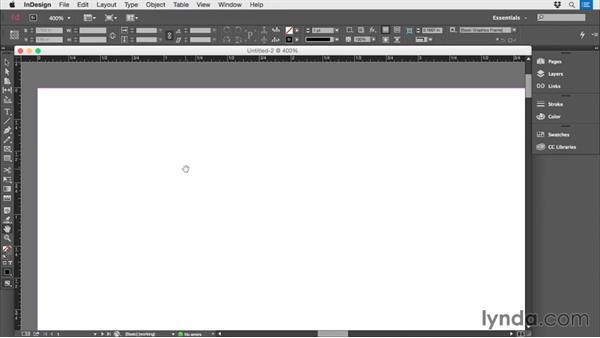 Setting up the digital document: Print Production Essentials: Folding