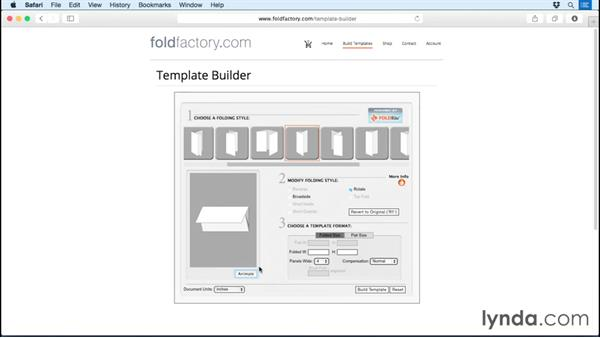 Building templates the easy way: Print Production Essentials: Folding