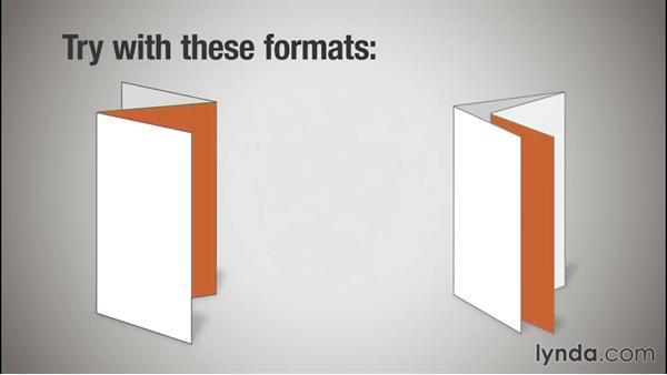 Extended panels: Print Production Essentials: Folding
