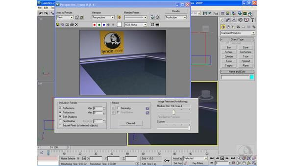Using mental ray: 3ds Max 2009 Beyond the Basics