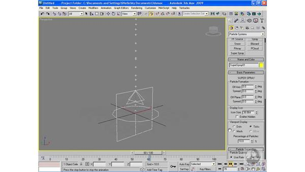 Creating particle systems: 3ds Max 2009 Beyond the Basics