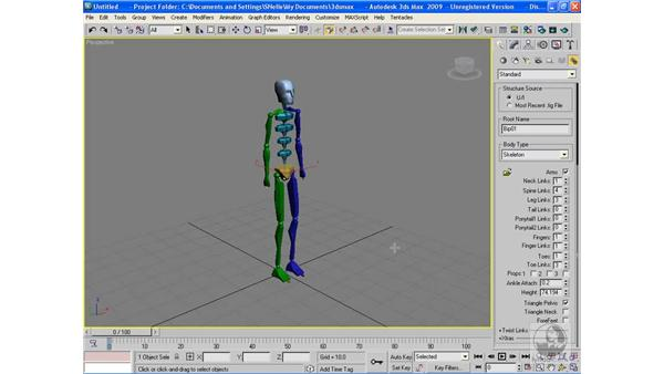 Introduction to Character Studio: 3ds Max 2009 Beyond the Basics