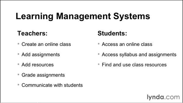 Overview of learning management systems: Up and Running with Canvas 2015