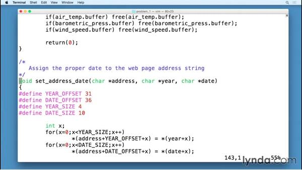 Fetching specific web data: Code Clinic: C