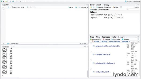 The R programming language: Code Clinic: R