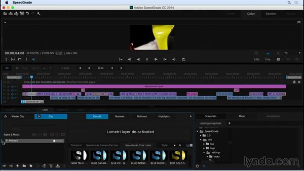 Direct linking between Premiere Pro and SpeedGrade: Video Post Tips Weekly