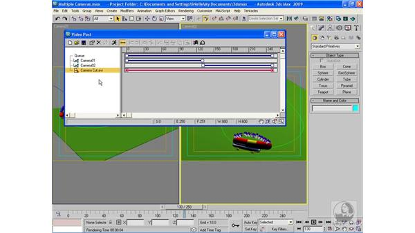 Combining multiple cameras in a scene: 3ds Max 2009 Beyond the Basics