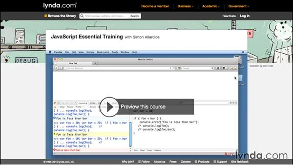 What you should know before watching this course: Code Clinic: JavaScript
