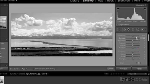 Welcome: Creating Black-and-White Landscape Photos with Lightroom