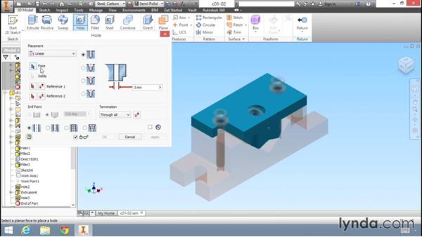 Key differences in the user interfaces: Migrating from AutoCAD to Inventor