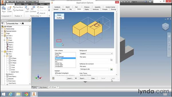 Customizing the look and behavior of Inventor: Migrating from AutoCAD to Inventor