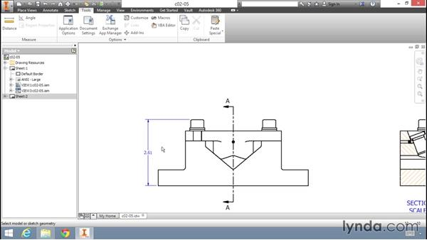 Working with units in an Inventor drawing: Migrating from AutoCAD to Inventor