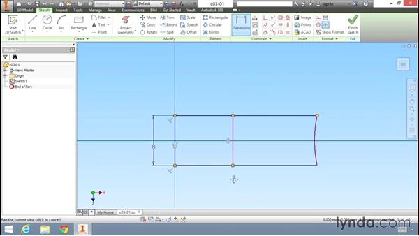 Working with dimension-based models: Migrating from AutoCAD to Inventor