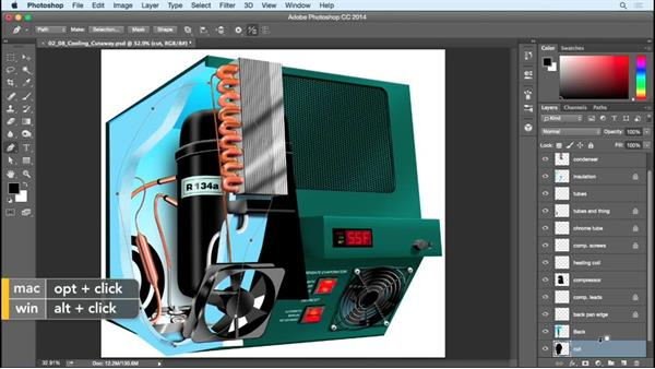 Creating the cutaway: Creating Commercial Illustrations