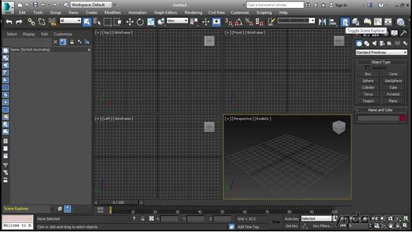 Using the exercise files: 3ds Max 2016 New Features