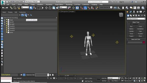 Navigating the Scene Explorer: 3ds Max 2016 New Features