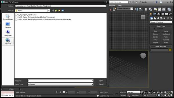 Importing Alembic data: 3ds Max 2016 New Features