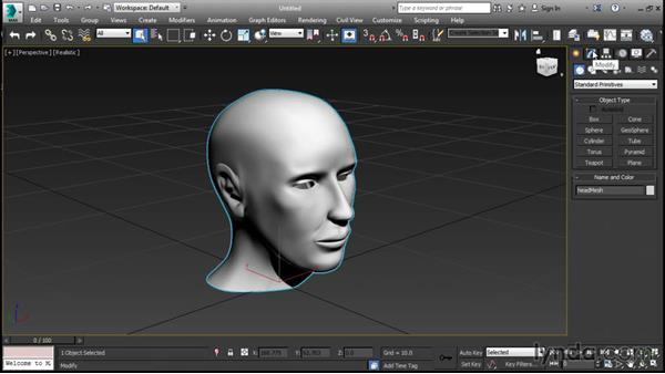 Mesh smoothing with OpenSubdiv: 3ds Max 2016 New Features