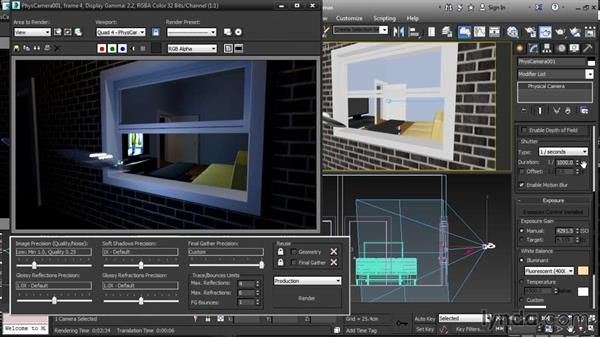 Rendering motion blur: 3ds Max 2016 New Features