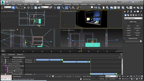 Using the Camera Sequencer: 3ds Max 2016 New Features