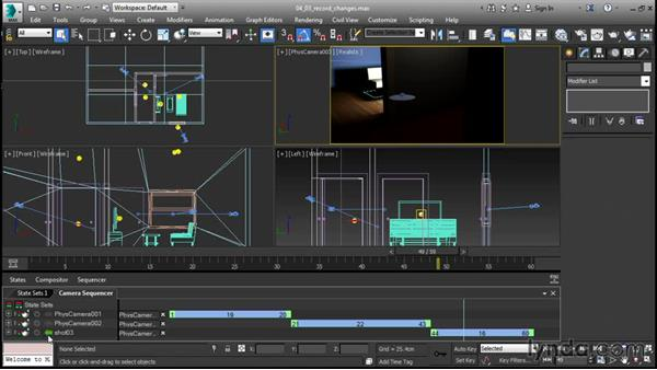Recording changes to states: 3ds Max 2016 New Features